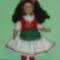 Magyar ruhás baba