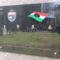 56-os Emléktábla a Szénatéren, ahol a harcok folytak