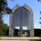 A mohácsi emlékpark bejárata