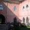 A Vécsey palota udvara, Szatmárnémetiben