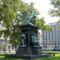 Deák Ferenc szobra a budapesti Roosevelt téren