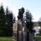 Dózsa György szobra, szülőfalujában, Dálnok községben, Székely-földön