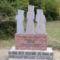 Emlékmű a recski táborban 1