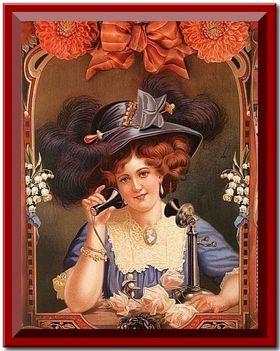 Hölgy a telegráffal