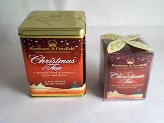 Speciális karácsonyi tea