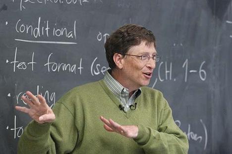 Bill Gates 1970-es évek közepén indította a Microsoft céget