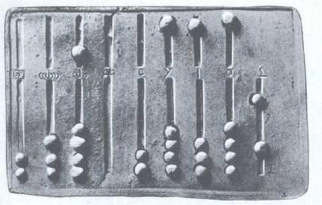Római kori abacus