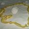 sárga organzaszalagos nyaklánc