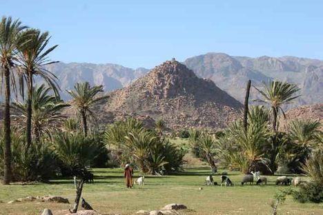 Tafraoute berberek által lakott vidéke
