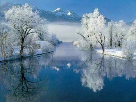 Téli táj 2