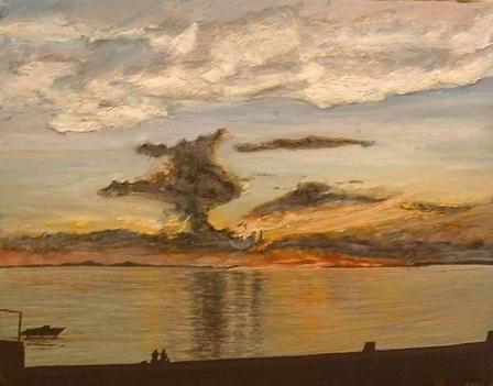 Klapka György-Horvátország viharfelhők