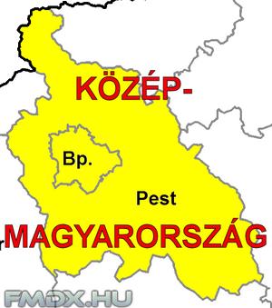 Régiónk részei Budapest és Pest megye