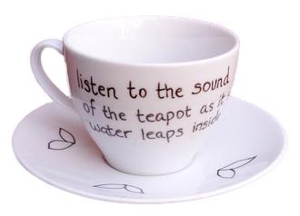 Csésze és haiku