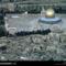 Dome Aerial, Old City, Jerusalem, Israel, 1982