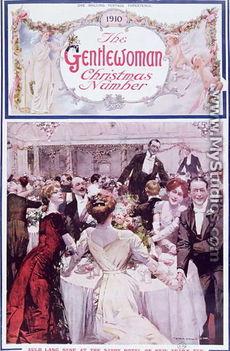 Szilveszter a Savoy Hotelben, Londonban 1910