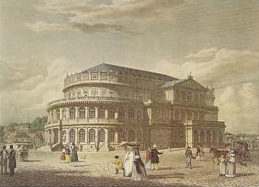 Dresden Hoftheater 19. sz-ban.