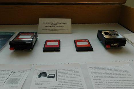 fő attrakciónk az első kazettás floppy a világon