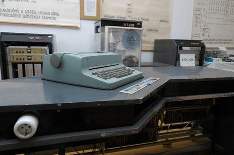 Írógép mint beviteli konzol