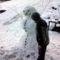 Megviselt hóember