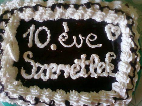 Csokis-tejszínes torta