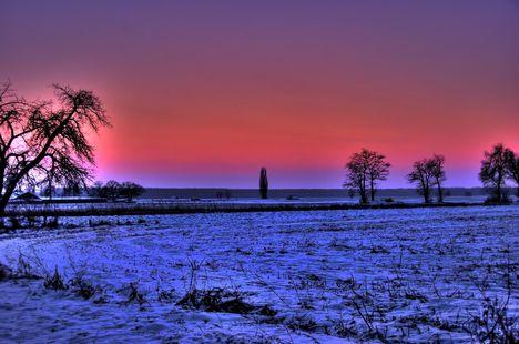 Egy hideg este