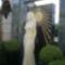Dalida szobra a sirjan  aMontmartre belvárosi temetőben