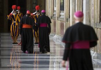 A biborosok köszöntését fogadta a pápa a vatikánban. 3