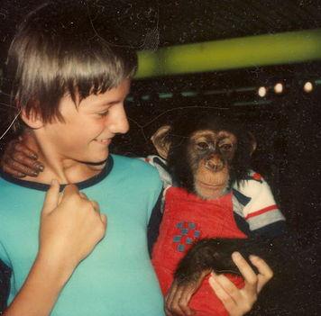 Andris és a majom