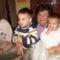 Az iker unokáimmal kívánunk Kellemes Ünnepeket