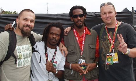 Reggae zenészek