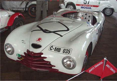 skoda 1200 sport 1949