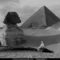 Great Sphinx, Giza, Egypt, 1918