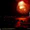 Harbor Fireworks, New York, 1985