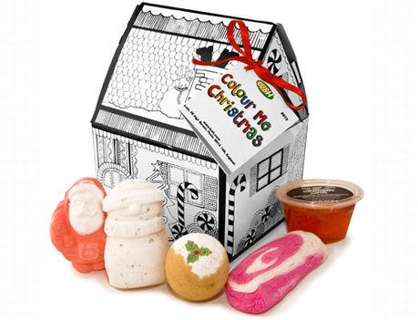 Lush Karácsonyi ajándékcsomag