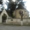 A Barcaujfalusi evangélikus templom előlről