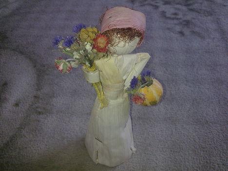 virágárus lány