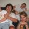 lányommal és az unokákkal