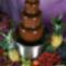 Csokoládé-szökőkút
