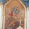 Szent Mihály főangyal, templomunk védőszentje az oltárképen.
