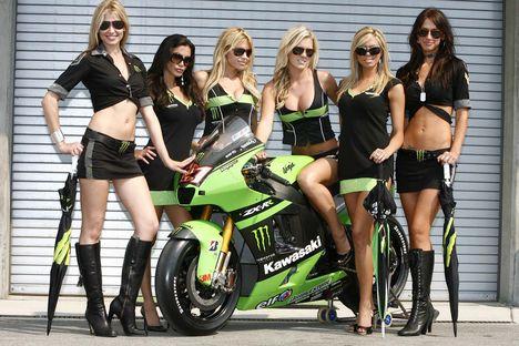 Kawasaki paddack girls