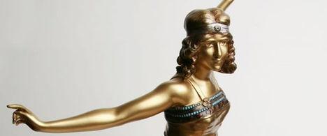 Art deco szobor