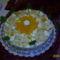 Barackos,krémsajtos torta