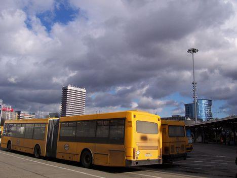 Volán buszok