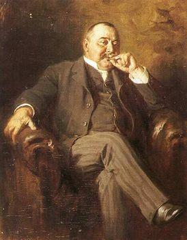 Benczúr Gyula - Mikszáth Kálmán (festmény)