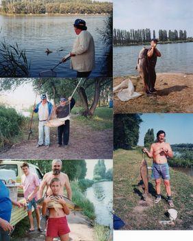 A dányi horgásztóban telepített és kifogott halak