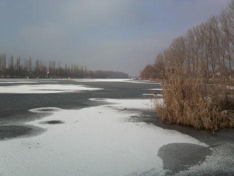 A Kft. dányi horgásztava 2010. január