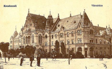 Városháza,Kecskemét - képeslap a 20