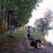 Horgászok a dányi tavon