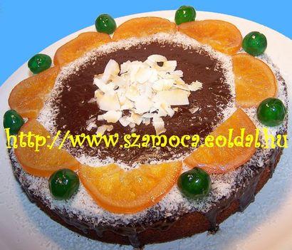 KÓKUSZOS BANÁN TORTA