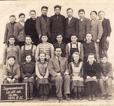 VII.-VIII. osztály 1956